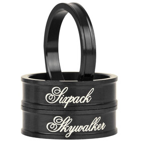 "Sixpack Skywalker Spacer 1 1/8"" stealth-black"
